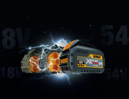DeWalt FLEXVOLT – innowacyjny akumulator bezprzewodowy