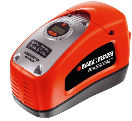 kompresor bezolejowy Black&Decker ASI300
