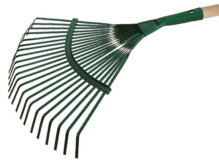 KARD Grabie do liści z trzonkiem 130cm